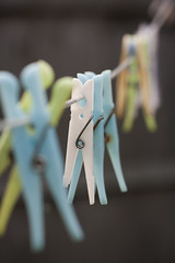 Pegs (sj9966) Tags: laundry hanging clothesline pegs washing