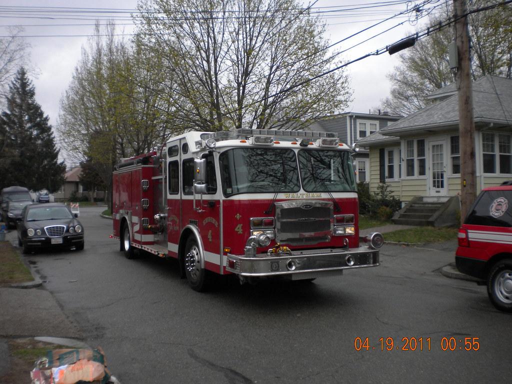 Waltham Fire Engine 4