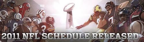 2011 NFL Schedule