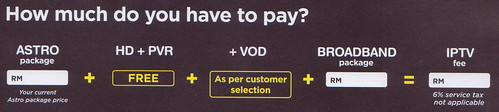 How much is Astro B.yond IPTV?