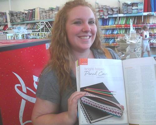 Me with Magazine!