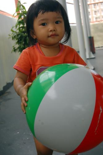 euna with ball
