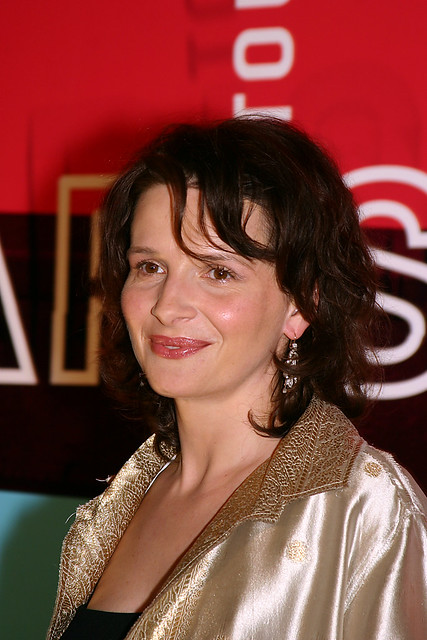 Juliette Binoche par Jean Quelquejeu by festivalpariscinema