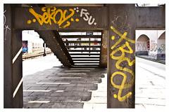 Grit Du Vesterport S-Train Station (fonzi74/gbCrates) Tags: grit gritty raw rough ruff grimey grimy copenhagen cph denmark danmark graffiti graf aerosol spraycan spray can sprjtemaling art street streetart alternative alternativ alt urban city by paint gb gbcrates crates frederik hyerchr hyer chr christensen emil fonzi74 revolutionary revolutionr kunst tag tags tagz vesterbro v western west westend town