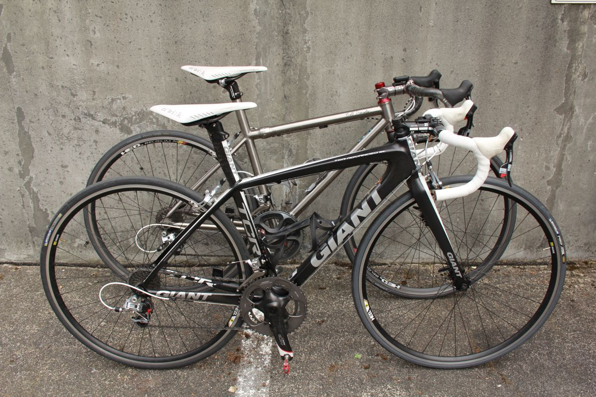 Giant TCR Advanced SL & Davidson MkV