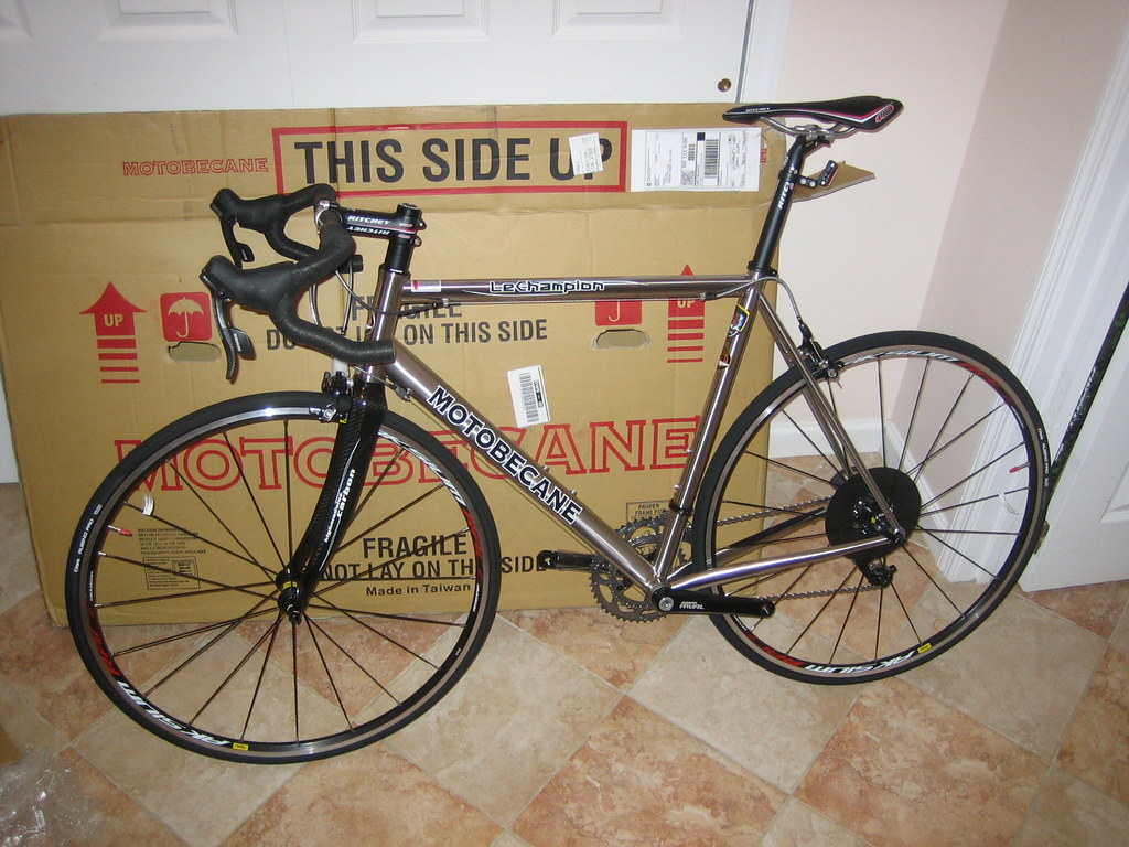 Bikesdirect Motobecane Titanium Road Bike I own a BD LeChampion Titanium