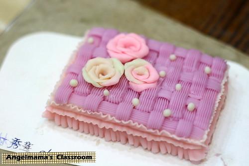 天使媽媽蛋糕皂教學 009