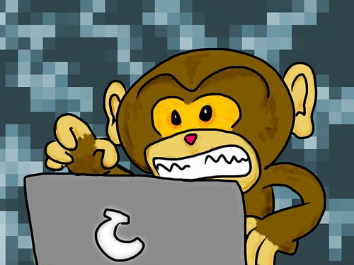 Code Monkey by yjsoon