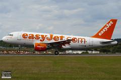 G-EZBM - 3059 - Easyjet - Airbus A319-111 - Luton - 100818 - Steven Gray - IMG_2119