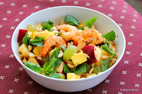 Yam Polamai - Thai Fruit and Shrimp Salad