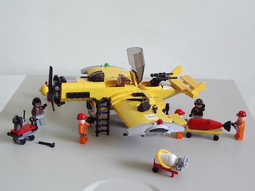 Custom minifig lego moc fighter
