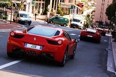Ferrari Combo... (MaxouCars) Tags: cars italia top ferrari monaco carlo monte marques exotics f430 combo tmm 458 2011