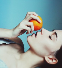 (Melania Brescia) Tags: portrait orange color girl