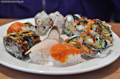 Sushi Plate at Osaka Sushi & Hibachi ~ Maplewood, MN