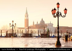 Italy - Venice - Venezia - Early Morning Atmosphere at Piazza San Marco/St. Mark Square with view to San Giorgio Maggiore church ( Lucie Debelkova / www.luciedebelkova.com) Tags: world ocean trip morning travel venice light sea vacation italy mer holiday seascape tourism water beautiful wonderful coast mar seaside fantastic italian agua meer wasser europe soft italia mare tour place awesome sightseeing shoreline eu atmosphere zee visit it location tourist coastal journey shore stunning destination coastline sight traveling visiting exploration incredible venezia touring breathtaking waterscape ocan 100commentgroup luciedebelkova wwwluciedebelkovacom luciedebelkovaphotography