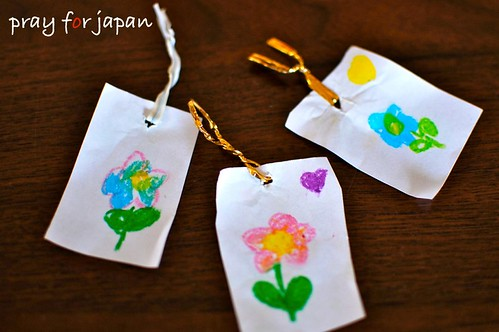 flower bookmarks by my girl