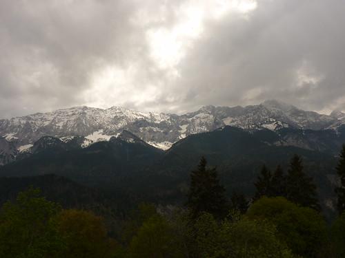 Aussicht vom Berggasthof Eckbauer