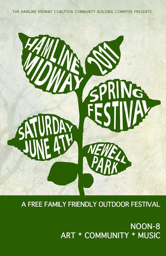 Spring Festival Flyer (4) front single
