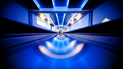 Serendipity in Blue (Thomas Hawk) Tags: vegas blue usa delete2 airport neon unitedstates fav50 lasvegas 10 nevada unitedstatesofamerica save3 delete3 save7 save8 delete save save2 fav20 save9 save4 save5 save10 save6 fav30 clarkcounty fav10 fav25 fav40 mccarraninternationalairport fav60 fav70 superfave savedbythehotboxuncensoredgroup