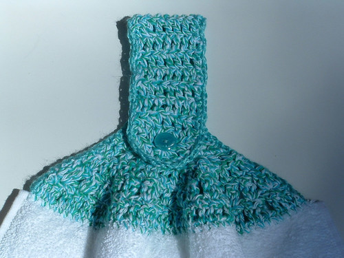 Free Crochet Pattern Kitchen Towel Topper : Kitchen Swap Set My Recycled Bags.com