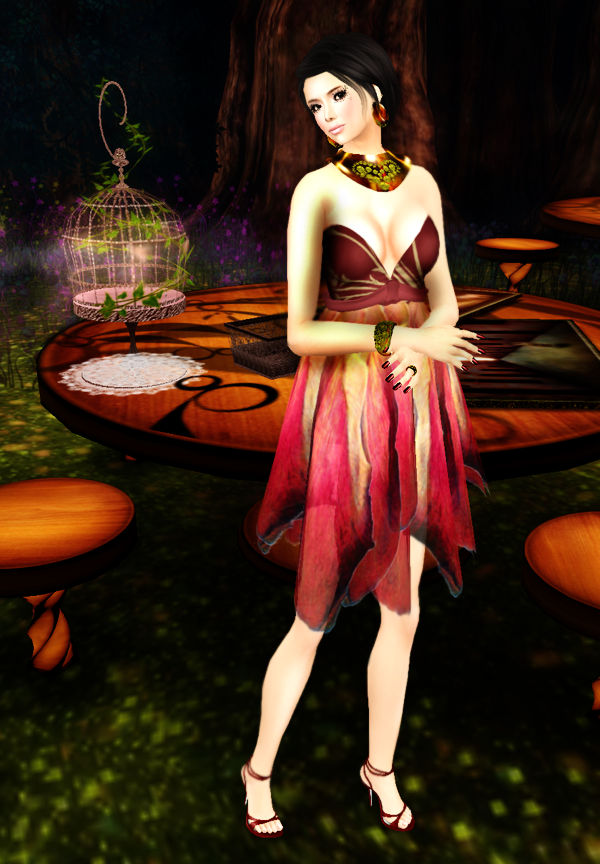 LPD Petal Dress
