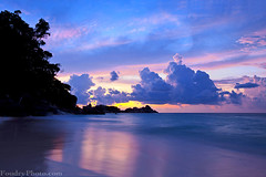 Similan Island Sunset - thailand (A.alFoudry) Tags: trip blue trees sunset sea cloud seascape color tree beach clouds canon landscape thailand island eos colorful purple mark tide wave full shore frame april 5d kuwait fullframe phuket heavy ef similan kuwaiti q8 abdullah newer عبدالله جزيره mark2 2011 1635mm || f28l kuw q80 q8city xnuzha alfoudry الفودري canonef1635mmf28l abdullahalfoudry foudryphotocom mark|| 5d|| canoneos5d|| mk|| canoneos5dmark|| تايلان‫د‬