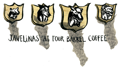 javelinas at four barrel coffee