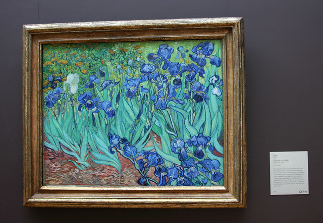 IMG_7008 Irises by Vincent van Gogh