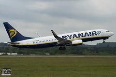 EI-DCN - 33808 - Ryanair - Boeing 737-8AS - Luton - 100614 - Steven Gray - IMG_3712