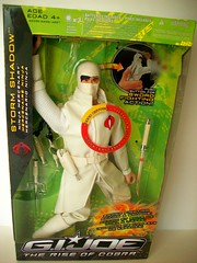 Storm  Shadow (napudollworld) Tags: girls shadow party storm shoe ebay g barbie joe pack dynamite tweety bathrobe finds sleepover deals