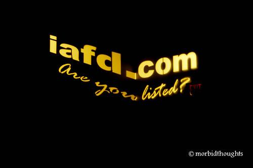 IAFD.com Are You Listed?