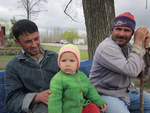 Serious turkish baby.