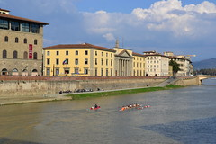 DSC_0133 (5) (pjpink) Tags: italy reflection water river florence spring tuscany firenze arno 2011 pjpink