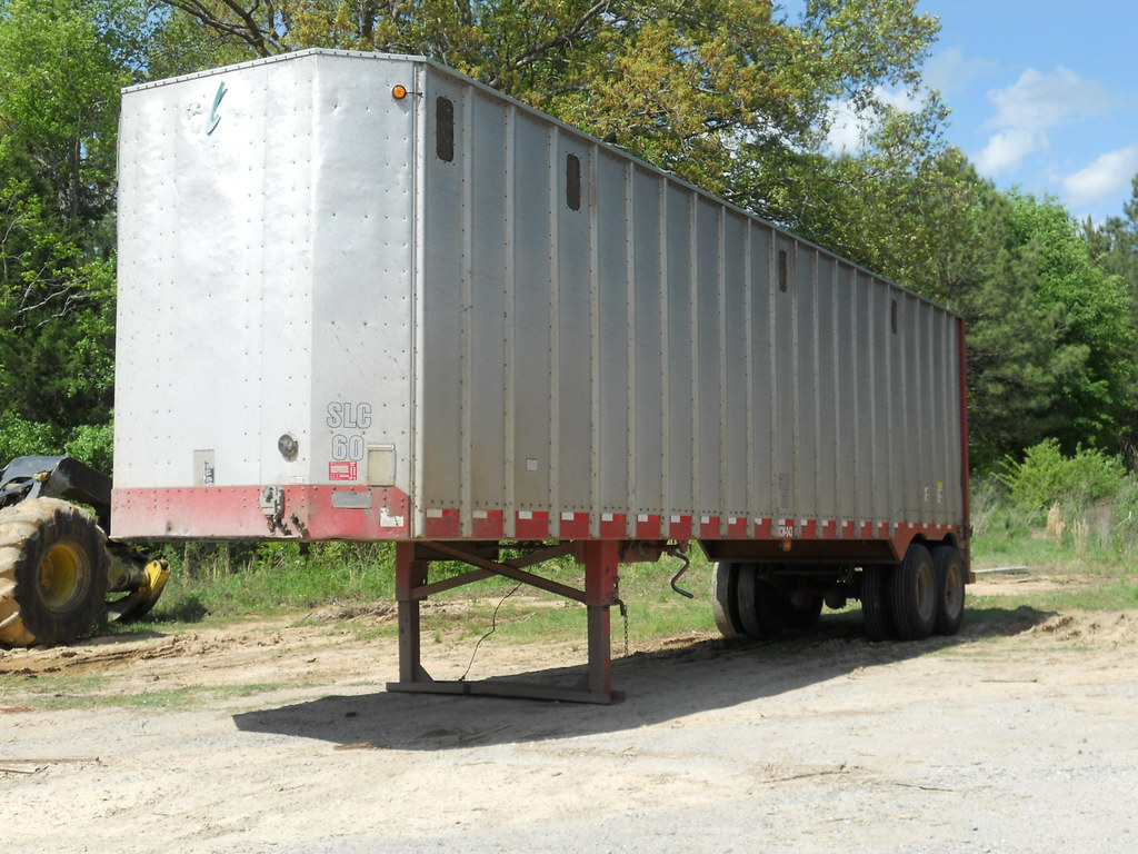 1998 ITI 42ft Aluminum Closed Top Chip Van for sale at Forestry First