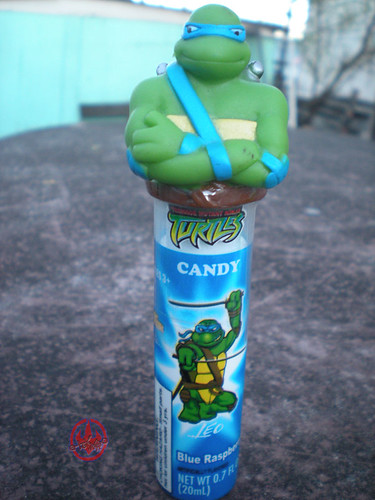 Koko's Confectionery & Novelty :: 'Teenage Mutant Ninja Turtles' CANDY SPRY // Leonardo - BLUE RASPBERRY i (( 2009 ))
