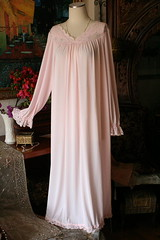 Shadowline Peachy Pink Silky Nylon Nightgown Full Length Front 2 (mondas66) Tags: ruffles lace silk romantic elegant ornate lacy nylon silky nightgown frilly nightgowns elegance nightdress ruffle nightwear silken frills frill ruffled nightie shadowline lacework frilled nighties nightdresses befrilled