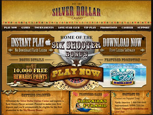 Silver Dollar Casino Home