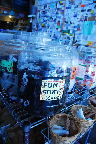 """Fun Stuff"" at the Long Beach Depot for Creative Reuse"
