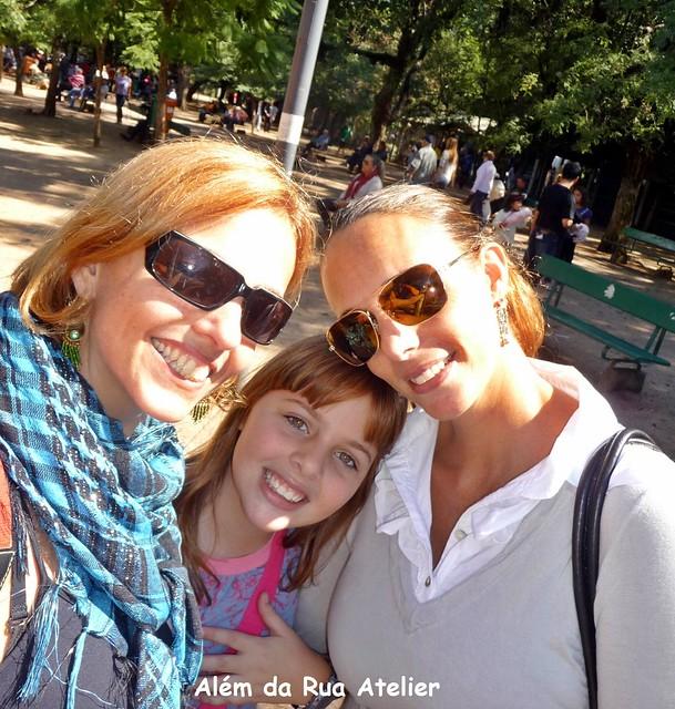 eu, Anna e Tati