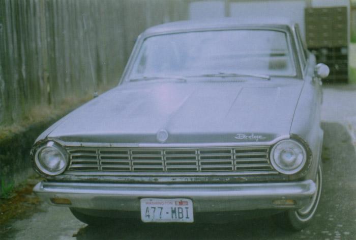 1966 Dodge Dart.