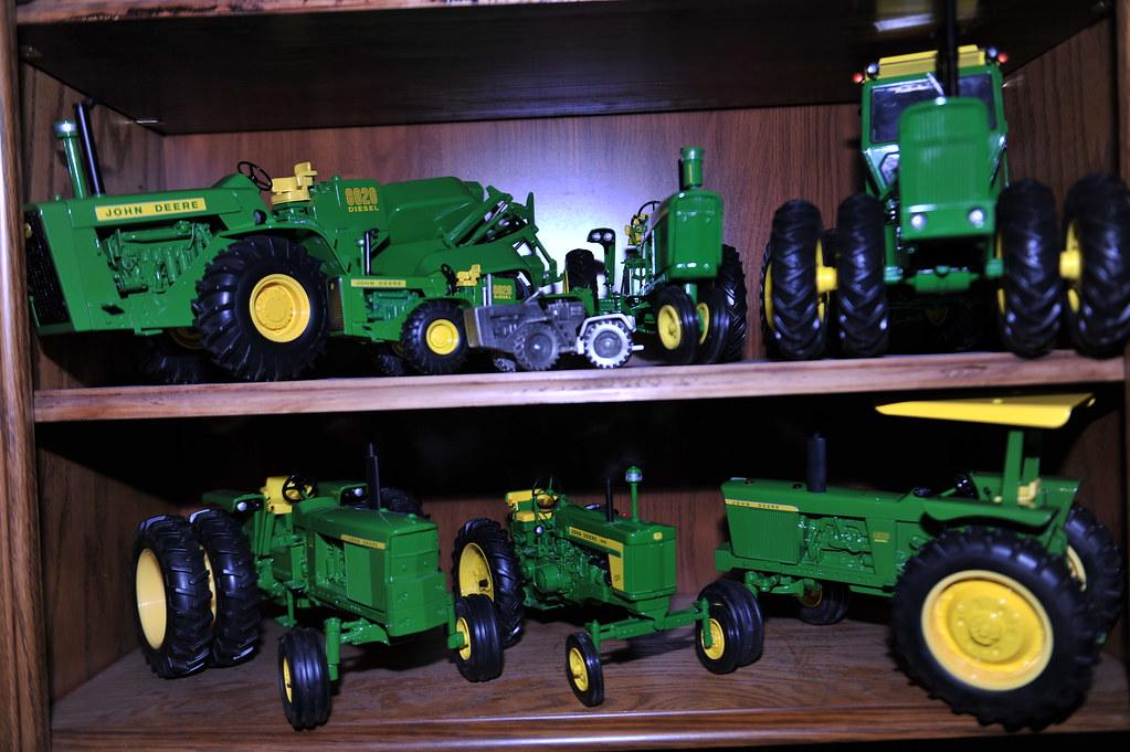 John Deere Tractor Die Cast Models by Ertl