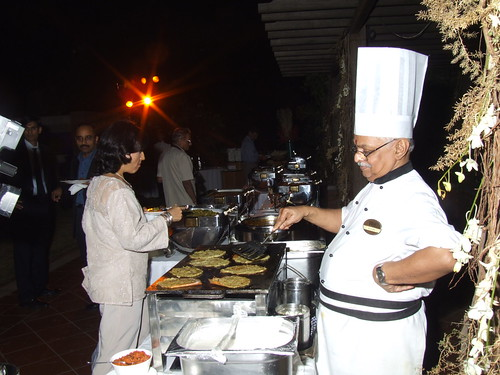 Classic South Indian dishes at the lavish spread