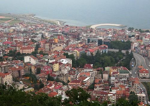 DSCN0635 Trabzon, vue depuis Boztepe