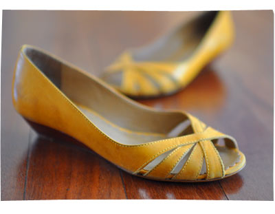 Yellow Zu Shoes