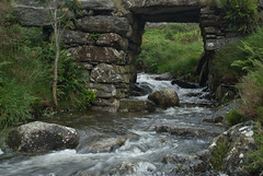Under The Bridge (Chris Noble Photography) Tags: bridge river landscape other misc places naturalhistory manmade northwales croesor riverscene photogenre