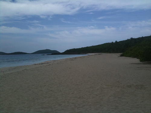 Culebra Puerto Rico - Zoni Beach Looking East