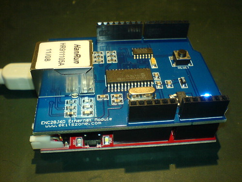 Seeeduino and ethernet shield