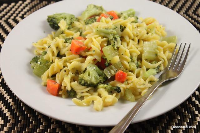 Day 151 - Veggie Corn Pasta