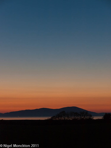 1000/467: 02 June 2011: Another Solway Sunset