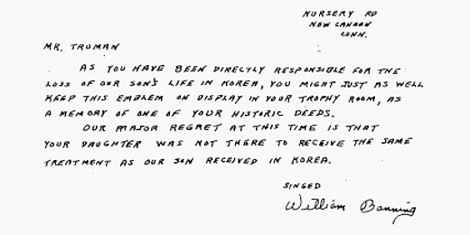 Letters Of Note You Are Directly Responsible For The Loss Of Our